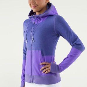 Lululemon voyage hoodie purple size 8